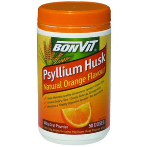 Psyllium Husks 500g Orange Flavoured by Bonvit