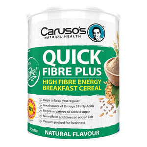 Quick Fibre Powder by Carusos Natural Health