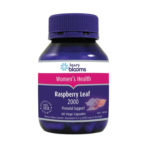 Raspberry Leaf 2000 Capsules by Blooms