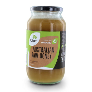 Lotus Raw Honey Organic 1kg