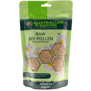 Raw Bee Pollen Granules 250g by Australian by Nature