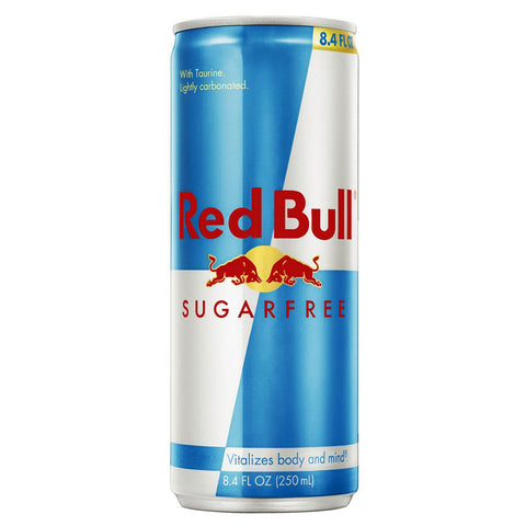 Energy Drink (Sugar Free) by Red Bull