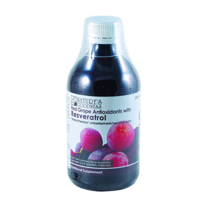Red Grape Antioxidants with Resveratrol Juice by Natures Goodness