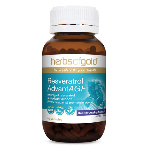 Resveratrol AdvantAGE by Herbs of Gold