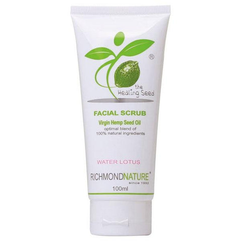 Healing Seed Facial Scrub 100ml by Richmond Nature