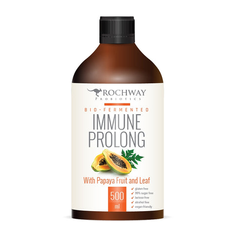 Rochway Bio-Fermented Immune Prolong With Papaya Fruit & Leaf