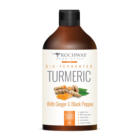 Rochway Bio-Fermented Turmeric With Ginger & Black Pepper