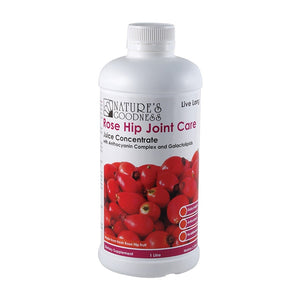 Rose Hip Joint Care Juice Concentrate 1 Litre by Natures Goodness