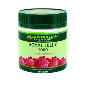 Royal Jelly 1000mg 180 Capsules by Australian by Nature