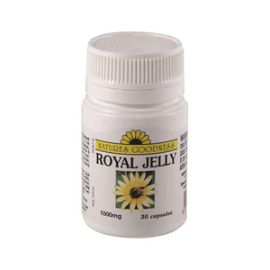 Royal Jelly 1000mg 30 Capsules by Natures Goodness