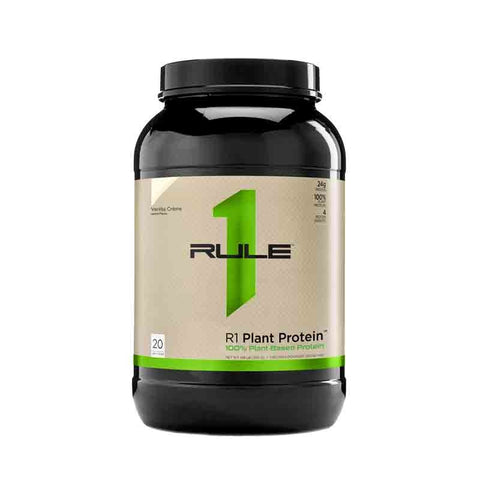 R1 Plant Protein by Rule 1 Protein - Plant Based Protein Powder