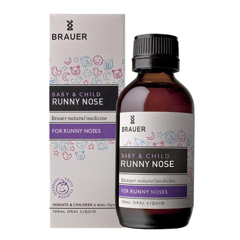 Baby & Child Runny Nose Oral Liquid by Brauer Natural Medicines