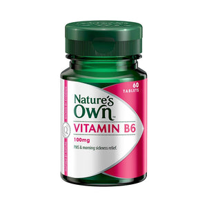 Vitamin B6 200mg Tablets by Natures Own