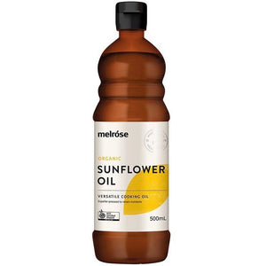 Cold Pressed Organic Sunflower Salad Oil 500ml by Melrose