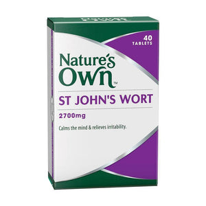 St Johns Wort 2700mg Tablets by Natures Own
