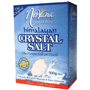 Himalayan Crystal Salt Stone Ground Fine 500g - Nirvana Health Products