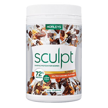 Image of Sculpt Shaping Protein 500g by Horleys *NEW NATURAL FORMULA*