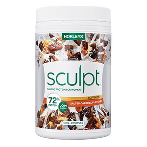 Sculpt Shaping Protein 500g by Horleys *NEW NATURAL FORMULA*