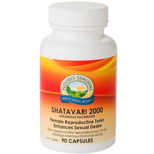 Shatavari 2000mg 90 Capsules by Natures Sunshine