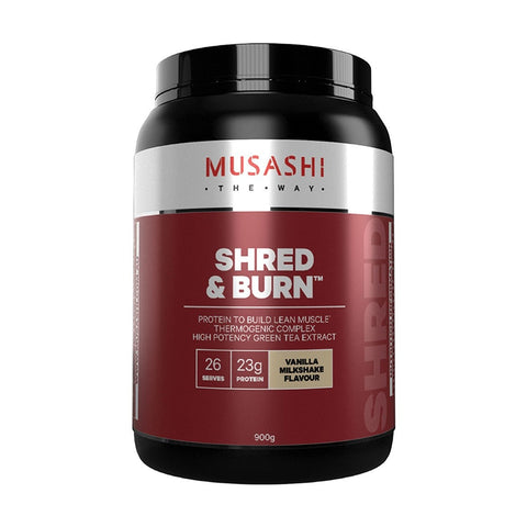 Musashi Shred & Burn 900g