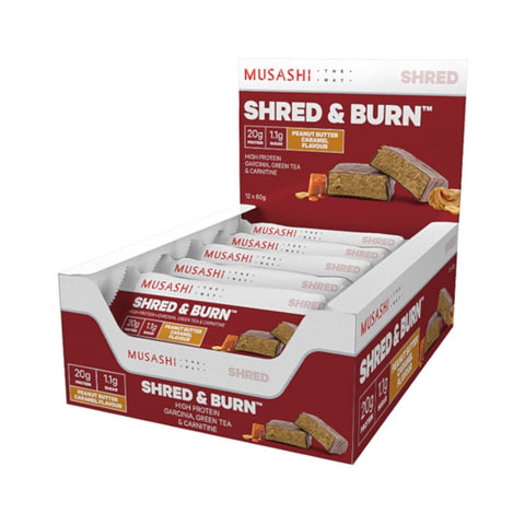 Musashi Shred & Burn Bar Box