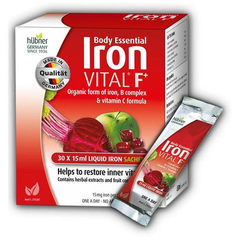 Image of Hubner Vital F+ Liquid Iron Sachets