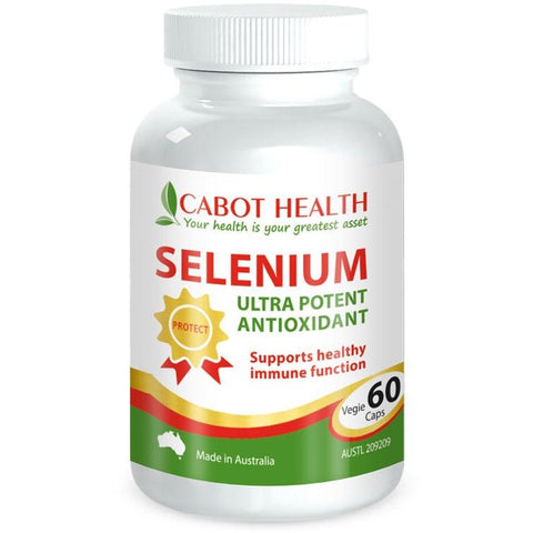 Selenium Complete Ultra Potent 60 Tablets - Cabot Health