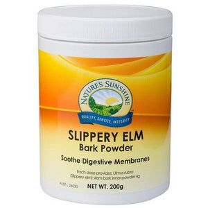 Slippery Elm Bark Powder 200g by Natures Sunshine