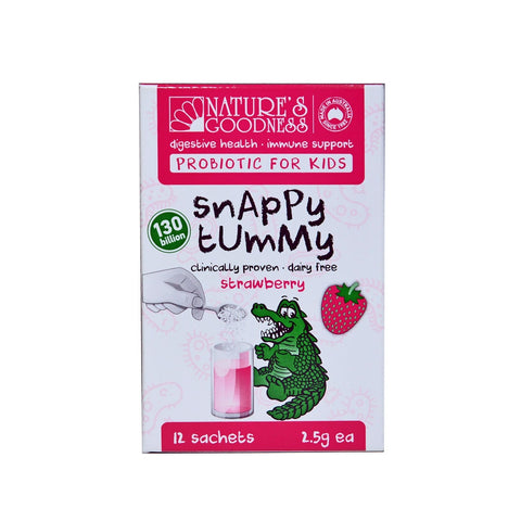 Natures Goodness Snappy Tummy Kids Probiotic 12 Serves