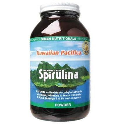 Image of Hawaiian Pacifica Spirulina Powder 450g by Green Nutritionals (MicrOrganics)
