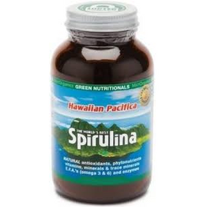 Hawaiian Pacifica Spirulina 100 Tablets by Green Nutritionals (MicrOrganics)