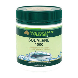 Squalene 200 Capsules by Australian by Nature