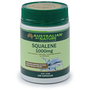 Squalene 100 Capsules by Australian by Nature