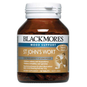 St Johns Wort 90 Tablets by Blackmores