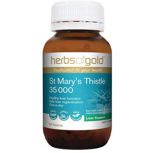 St Marys Thistle 35000 by Herbs of Gold