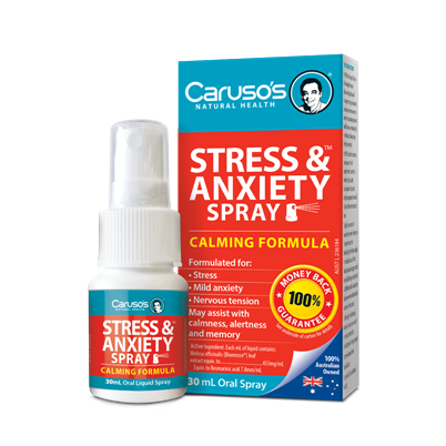 Image of Stress & Anxiety Spray 30ml - Carusos Natural Health