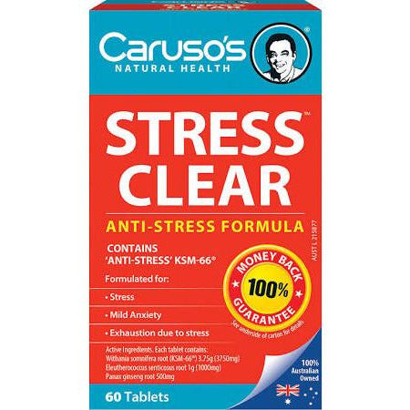 Image of Stress Clear by Carusos Natural Health
