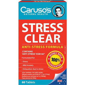 Stress Clear by Carusos Natural Health
