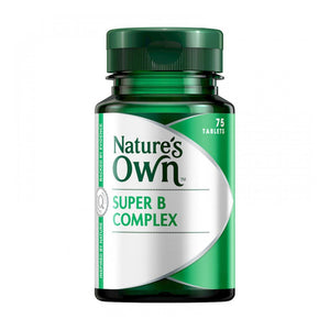 Super B Complex 75 Tablets by Natures Own