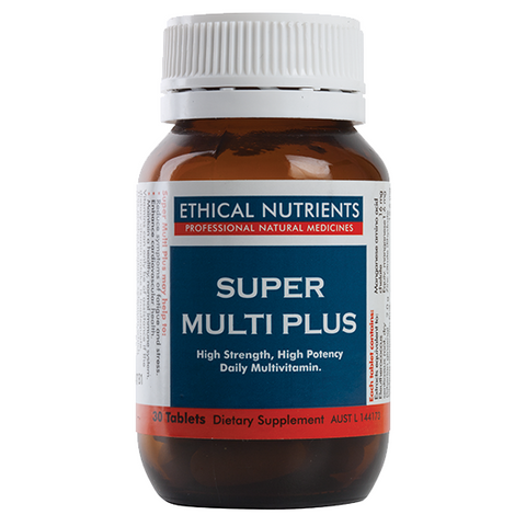 Super Multi Plus 30 Tablets by Ethical Nutrients