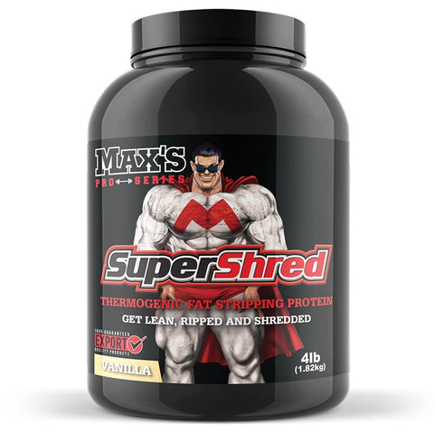 Super Shred 1.82kg (4lb) by Maxs