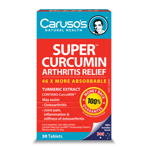 Super Curcumin by Carusos Natural Health