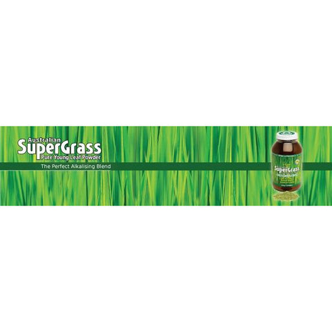 Image of Australian Supergrass Powder 200g by Green Nutritionals (MicrOrganics)