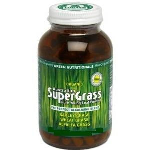 Australian Supergrass Powder 200g by Green Nutritionals (MicrOrganics)
