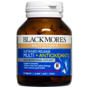 Sustained Release Multi + Antioxidants 75 Tablets by Blackmores