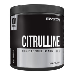 100% Pure Citrulline Malate by Switch Nutrition