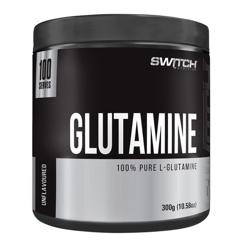 100% Pure L-Glutamine by Switch Nutrition