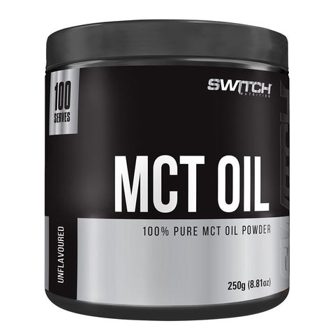 100% Pure MCT Oil Powder by Switch Nutrition