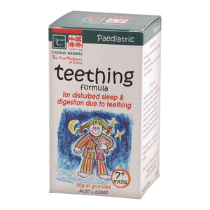 Paediatric Teething Formula 50g by Cathay Herbal