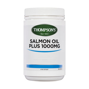 Salmon Oil 1000mg 500 Capsules by Thompsons